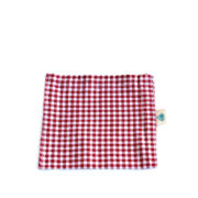 Red Check on-the-go Snack Bag